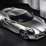 Концепт-кар Alfa Romeo 4C